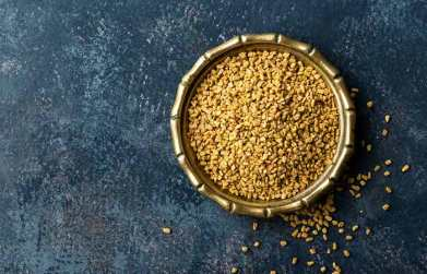 organic face pack fenugreek seeds